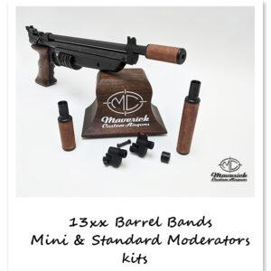 13XX Barrel Band and Moderator Kits