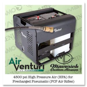 Air Venturi HPA Compressor, 4500 PSI/310 Bar, 110V