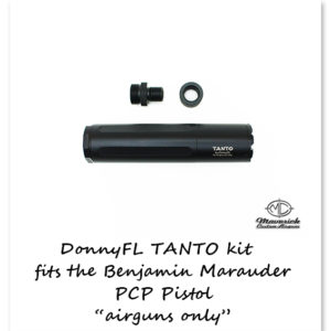 DonnyFL Airgun Moderator Tanto P-rod kit