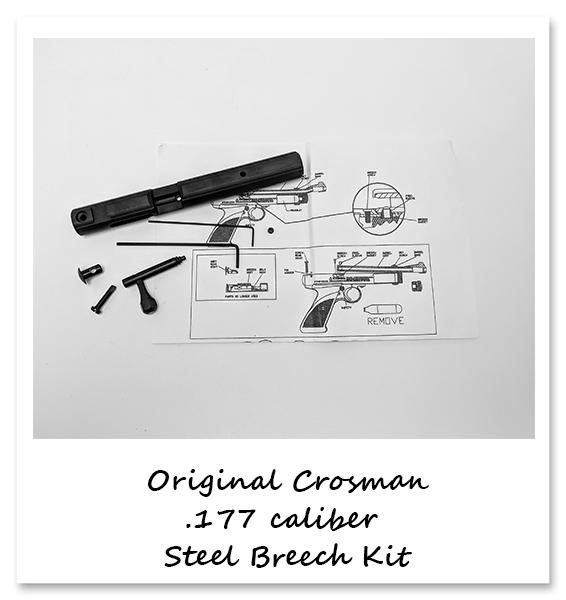 Crosman 1322 1377 Rear Cocker Two Seal Kits EVP With Seal ID Guide