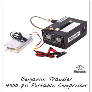 Benjamin Traveler 4500 psi Portable Compressor